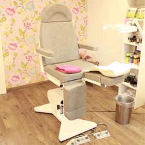 Behandelstoel salon it Onlan